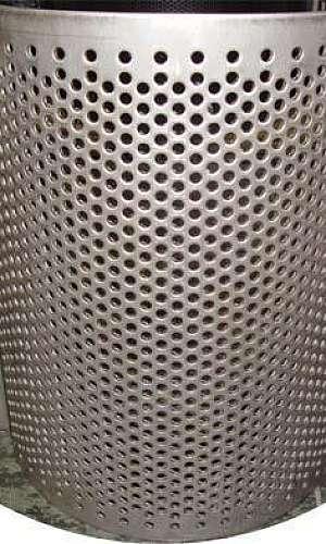 Chapa perfurada para moinho