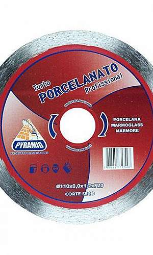 Disco de corte diamantado para porcelanato