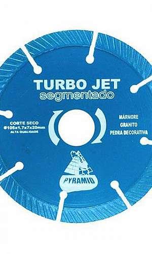 Disco de corte diamantado turbo