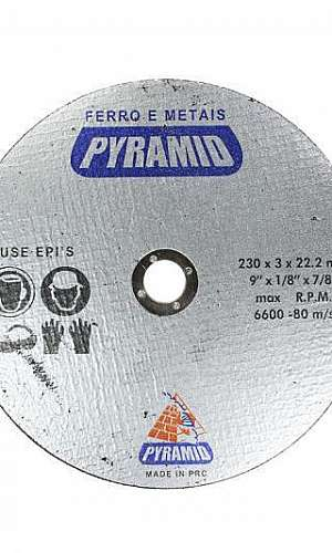 Disco diamantado para corte de metal