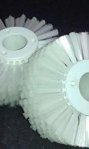 Escovas cilíndricas de nylon