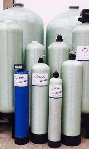 Filtro central 500 litros
