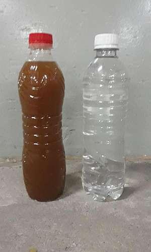 filtro central de água potável