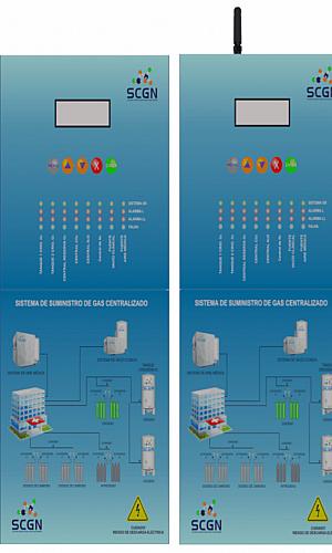 Sistema centralizado para módulo de ar